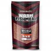 SonuBaits  Supercrush Worm Fish Meal